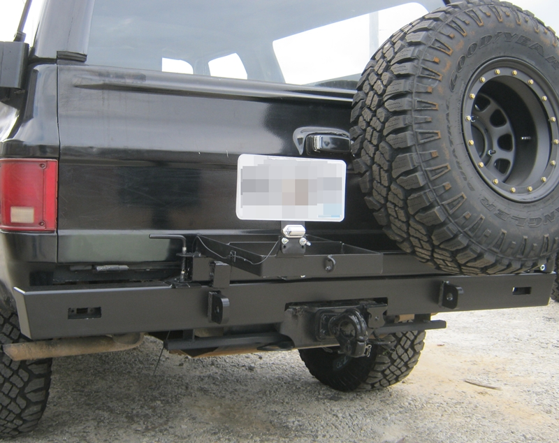 Rear Multicarrier bumper for 68-72 and 73-91 Chevrolet and ...