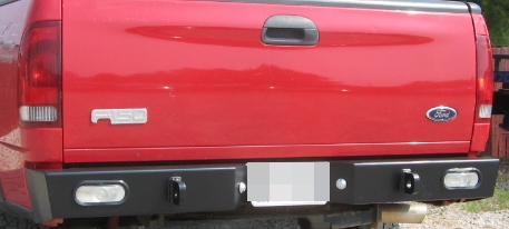 Nissan Frontier Off Road >> Rear Multicarrier bumper F150 (97-03): BlueLakeOffroad