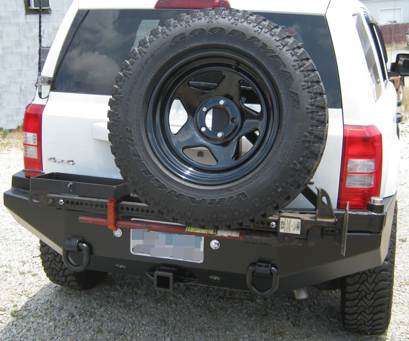 Rear Multicarrier Jeep Patriot All Years Bluelakeoffroad
