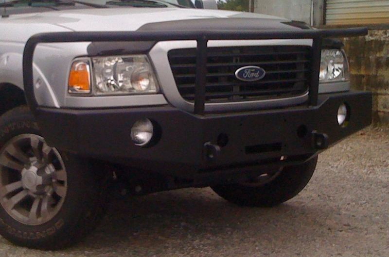 ranger winch bumper 1998 2011 bluelakeoffroad. Black Bedroom Furniture Sets. Home Design Ideas