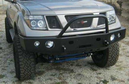 The Ram Tacoma >> Front winch bumper Nissan Pathfinder (05-12): BlueLakeOffroad