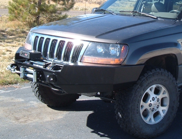 Front Winch Bumper Jeep Grand Cherokee Wj 99 04
