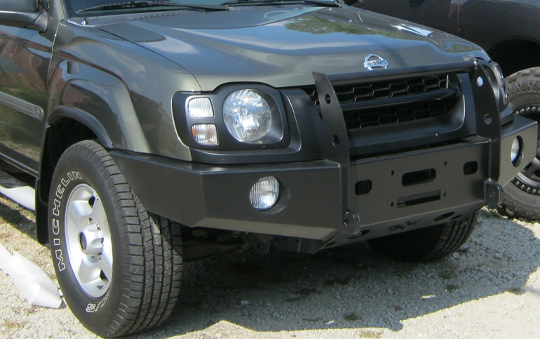 2002 Ford Explorer Lift Kit >> Front winch bumper Xterra (2000-2004): BlueLakeOffroad