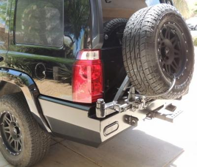 Rear Jeep Commander (XK) Multi-Carrier: BlueLakeOffroad