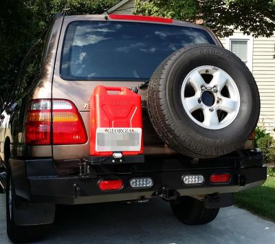 Used Fj Cruiser >> Rear Multicarrier Bumper Toyota Land Cruiser Series 100: BlueLakeOffroad