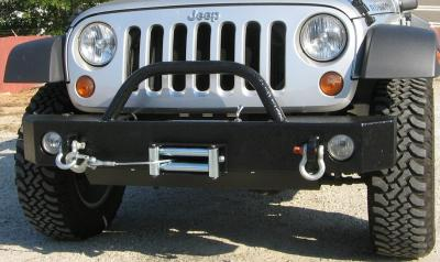 Front winch bumper for Jeep 2007-Present Wrangler (JK)