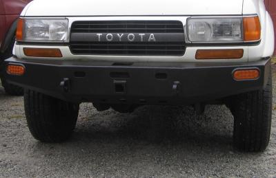Front Winch Bumper Toyota Land Cruiser Series 80