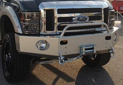 Front Winch Bumper Ford Super Duty (07-10)