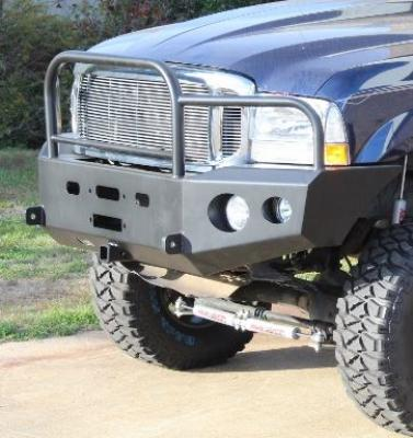 Front Winch Bumper Ford Super Duty Truck and Excursion (99-06)
