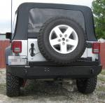 Rear MultiCarrier bumper JK Wrangler