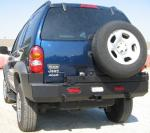 Rear Multi-Carrier bumper Jeep Liberty (KJ) 01-04