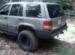 "Rear Multicarrier bumper ""low profile"" Grand Cherokee (ZJ) 93-98"