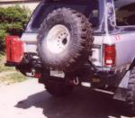 Rear Multicarrier bumper Dodge Ram 1500 & HD (79-93)