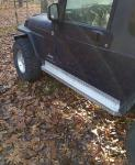 Rock Sliders - TJ/LJ Aluminum Diamond Plate (LJ 04-06) (TJ  97-06)