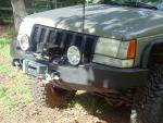 Front winch bumper Jeep Grand Cherokee 93-98 (ZJ)