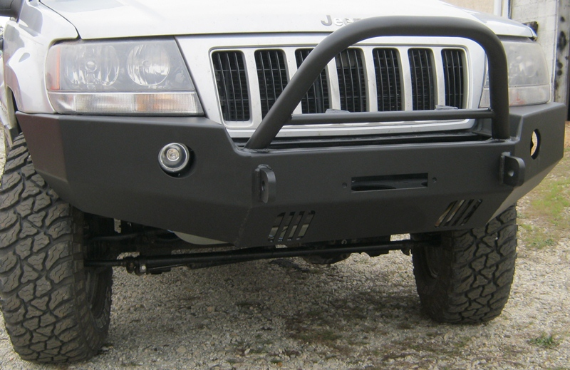 front winch bumper jeep grand cherokee wj 99 04 blue lake off road front winch bumper jeep grand cherokee wj 99 04